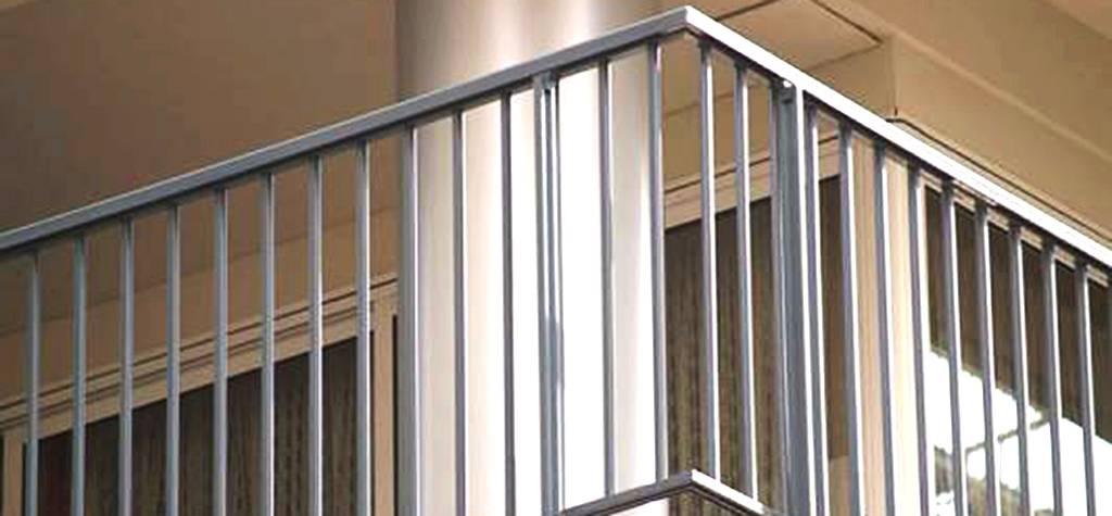 Cristaleria Madrid Barandillas de aluminio en madrid