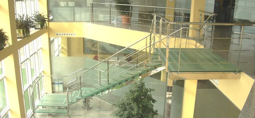 Barandillas de cristal templado barandillas de cristal en - Escaleras de aluminio precios ...
