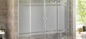 Cristaleria Madrid Mamparas de baño de aluminio y cristal en madrid